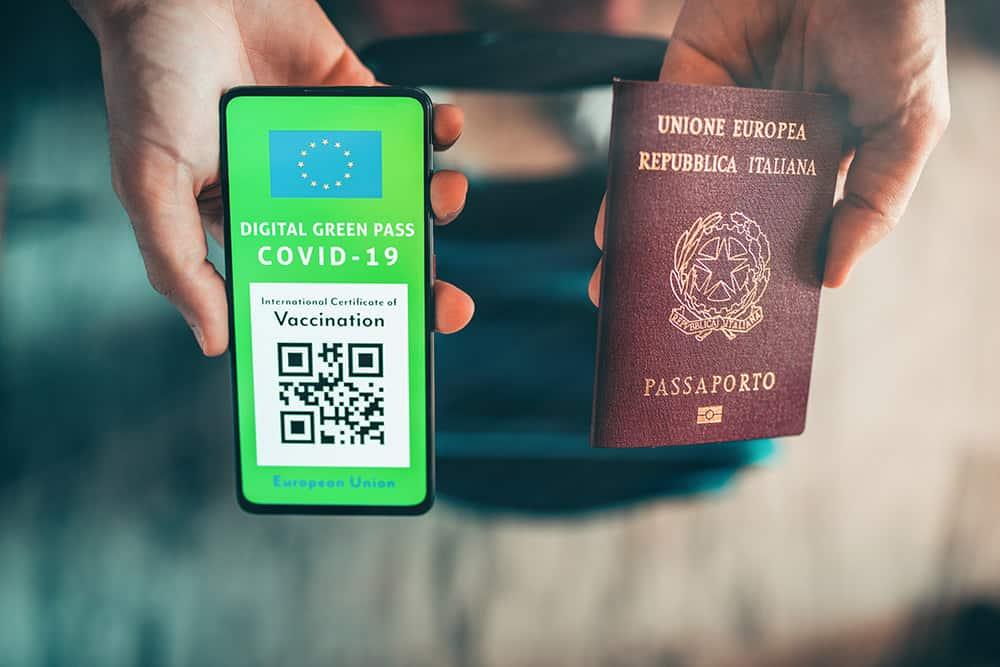 carta verde covid vaccino europa green pass polizza